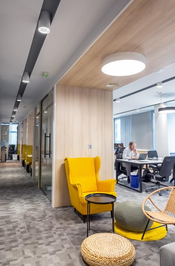 LED osvetljenje u kancelariji