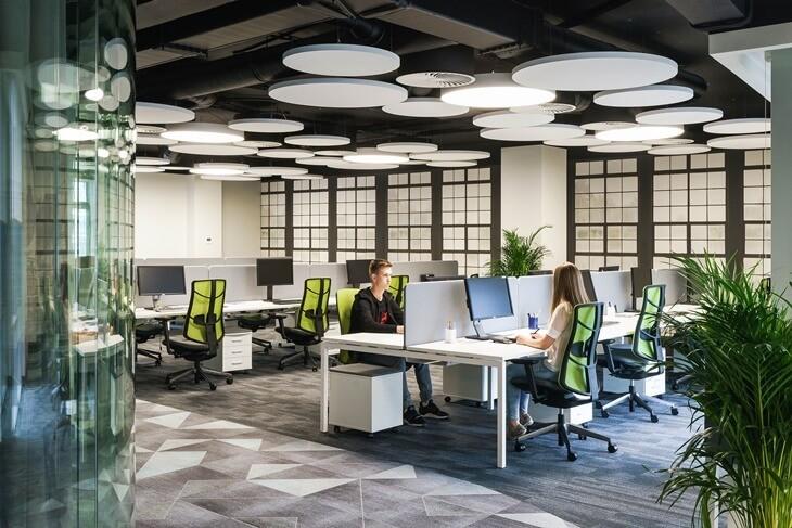 Rad u velikoj open space kancelariji