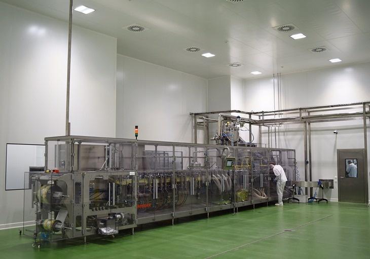 Mašina za proivodnju u fabrici